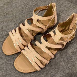 SO Blush Ross Gladiator Sandals-Hopeful